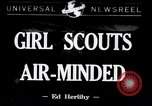 Image of Girl Scouts United States USA, 1942, second 1 stock footage video 65675040913