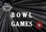 Image of Bowl games New Orleans Louisiana USA, 1947, second 1 stock footage video 65675040923