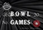 Image of Bowl games New Orleans Louisiana USA, 1947, second 6 stock footage video 65675040923