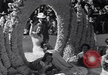 Image of Float parade Pasadena California USA, 1947, second 8 stock footage video 65675040925