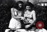 Image of chicken beauty pageant Petaluma California USA, 1947, second 5 stock footage video 65675040927