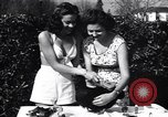 Image of chicken beauty pageant Petaluma California USA, 1947, second 6 stock footage video 65675040927