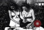 Image of chicken beauty pageant Petaluma California USA, 1947, second 7 stock footage video 65675040927