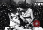 Image of chicken beauty pageant Petaluma California USA, 1947, second 8 stock footage video 65675040927