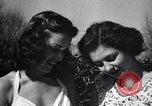 Image of chicken beauty pageant Petaluma California USA, 1947, second 10 stock footage video 65675040927