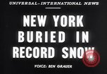 Image of Blizzard of 1947 New York United States USA, 1947, second 2 stock footage video 65675040929
