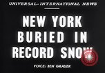 Image of Blizzard of 1947 New York United States USA, 1947, second 3 stock footage video 65675040929