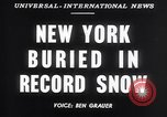 Image of Blizzard of 1947 New York United States USA, 1947, second 4 stock footage video 65675040929