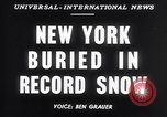 Image of Blizzard of 1947 New York United States USA, 1947, second 6 stock footage video 65675040929