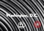 Image of President Eisenhower Washington DC USA, 1956, second 5 stock footage video 65675040932