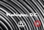 Image of President Eisenhower Washington DC USA, 1956, second 6 stock footage video 65675040932