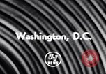 Image of Mamie Eisenhower Washington DC USA, 1956, second 3 stock footage video 65675040933