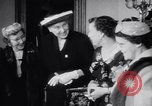 Image of Mamie Eisenhower Washington DC USA, 1956, second 9 stock footage video 65675040933