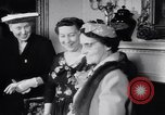 Image of Mamie Eisenhower Washington DC USA, 1956, second 12 stock footage video 65675040933