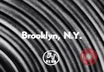 Image of Film on War Brooklyn New York City USA, 1956, second 3 stock footage video 65675040942