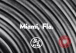 Image of Float parade Miami Florida USA, 1956, second 3 stock footage video 65675040949