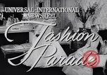 Image of Fashion parade New York United States USA, 1956, second 4 stock footage video 65675040950