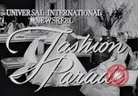Image of Fashion parade New York United States USA, 1956, second 5 stock footage video 65675040950