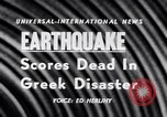 Image of Earthquake Aegean Islands Greece, 1956, second 6 stock footage video 65675040952