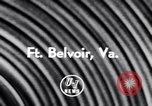 Image of Helicopter Fort Belvoir Virginia USA, 1956, second 6 stock footage video 65675040953
