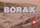 Image of Borax transport by 20 mule teams Death Valley California USA, 1894, second 9 stock footage video 65675040984