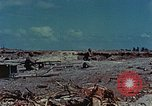 Image of dead Japanese soldiers Eniwetok Atoll Marshall Islands, 1944, second 12 stock footage video 65675041028