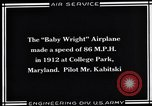 Image of Baby Wright Airplane College Park Maryland USA, 1930, second 3 stock footage video 65675041059