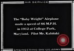 Image of Baby Wright Airplane College Park Maryland USA, 1930, second 5 stock footage video 65675041059