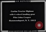 Image of Pilot John Cooper Hammondsport New York USA, 1930, second 2 stock footage video 65675041060
