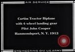 Image of Pilot John Cooper Hammondsport New York USA, 1930, second 4 stock footage video 65675041060