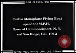 Image of Curtiss Flying Boat United States USA, 1930, second 5 stock footage video 65675041063