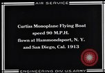 Image of Curtiss Flying Boat United States USA, 1930, second 8 stock footage video 65675041063