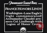 Image of Charles Lindbergh Washington DC USA, 1927, second 2 stock footage video 65675041068