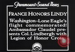 Image of Charles Lindbergh Washington DC USA, 1927, second 5 stock footage video 65675041068