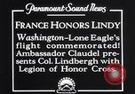 Image of Charles Lindbergh Washington DC USA, 1927, second 7 stock footage video 65675041068