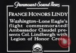 Image of Charles Lindbergh Washington DC USA, 1927, second 8 stock footage video 65675041068
