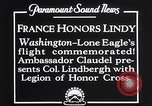 Image of Charles Lindbergh Washington DC USA, 1927, second 10 stock footage video 65675041068