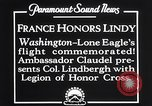 Image of Charles Lindbergh Washington DC USA, 1927, second 12 stock footage video 65675041068