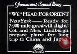 Image of Charles Lindbergh New York United States USA, 1927, second 2 stock footage video 65675041070