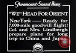 Image of Charles Lindbergh New York United States USA, 1927, second 4 stock footage video 65675041070