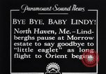 Image of Charles Lindbergh North Haven Maine USA, 1927, second 1 stock footage video 65675041071