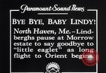 Image of Charles Lindbergh North Haven Maine USA, 1927, second 2 stock footage video 65675041071