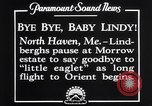 Image of Charles Lindbergh North Haven Maine USA, 1927, second 11 stock footage video 65675041071