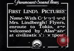 Image of Charles A Lindbergh Nome Alaska USA, 1931, second 1 stock footage video 65675041072