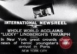 Image of Charles Lindbergh New York United States USA, 1927, second 10 stock footage video 65675041076