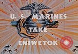 Image of Marines take Eniwetok Atoll Pearl Harbor Hawaii USA, 1944, second 9 stock footage video 65675041090