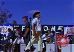Image of Bob Hope Bien Hoa Vietnam, 1965, second 10 stock footage video 65675041108