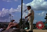 Image of Bob Hope Tan Son Nhut Vietnam, 1965, second 7 stock footage video 65675041113