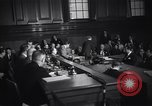 Image of Costello at Kefauver Hearings New York United States USA, 1951, second 9 stock footage video 65675041132