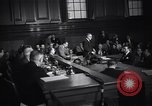 Image of Costello at Kefauver Hearings New York United States USA, 1951, second 10 stock footage video 65675041132